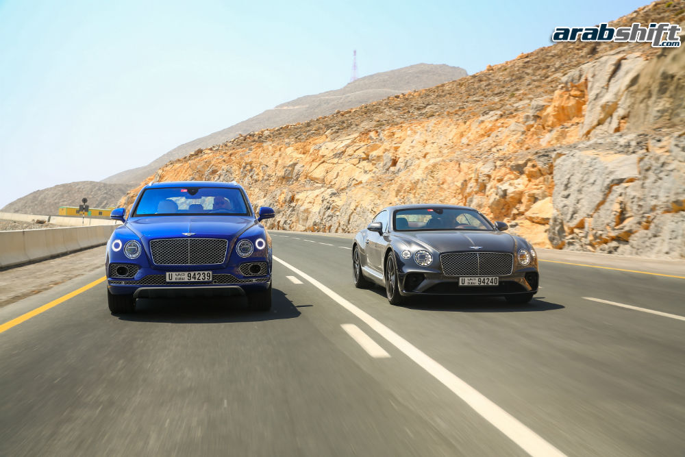 Bentley Continental GT & Bentayga V8 0