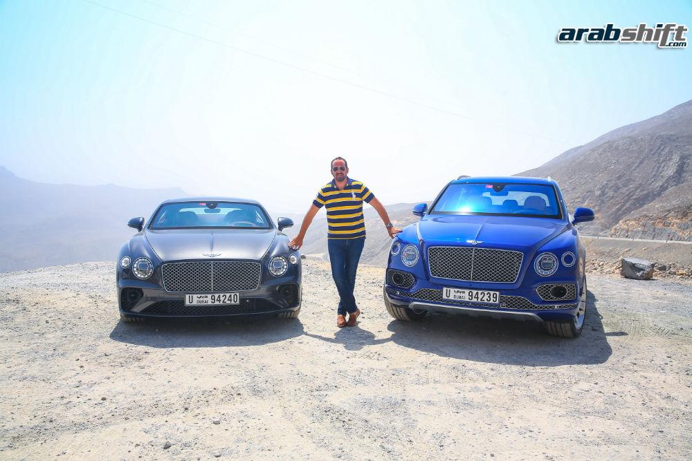 Bentley Continental GT & Bentayga V8 Press Drive-41-w1000-h1000