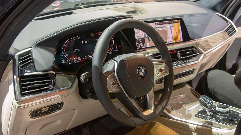 داخلية BMW X7 2019