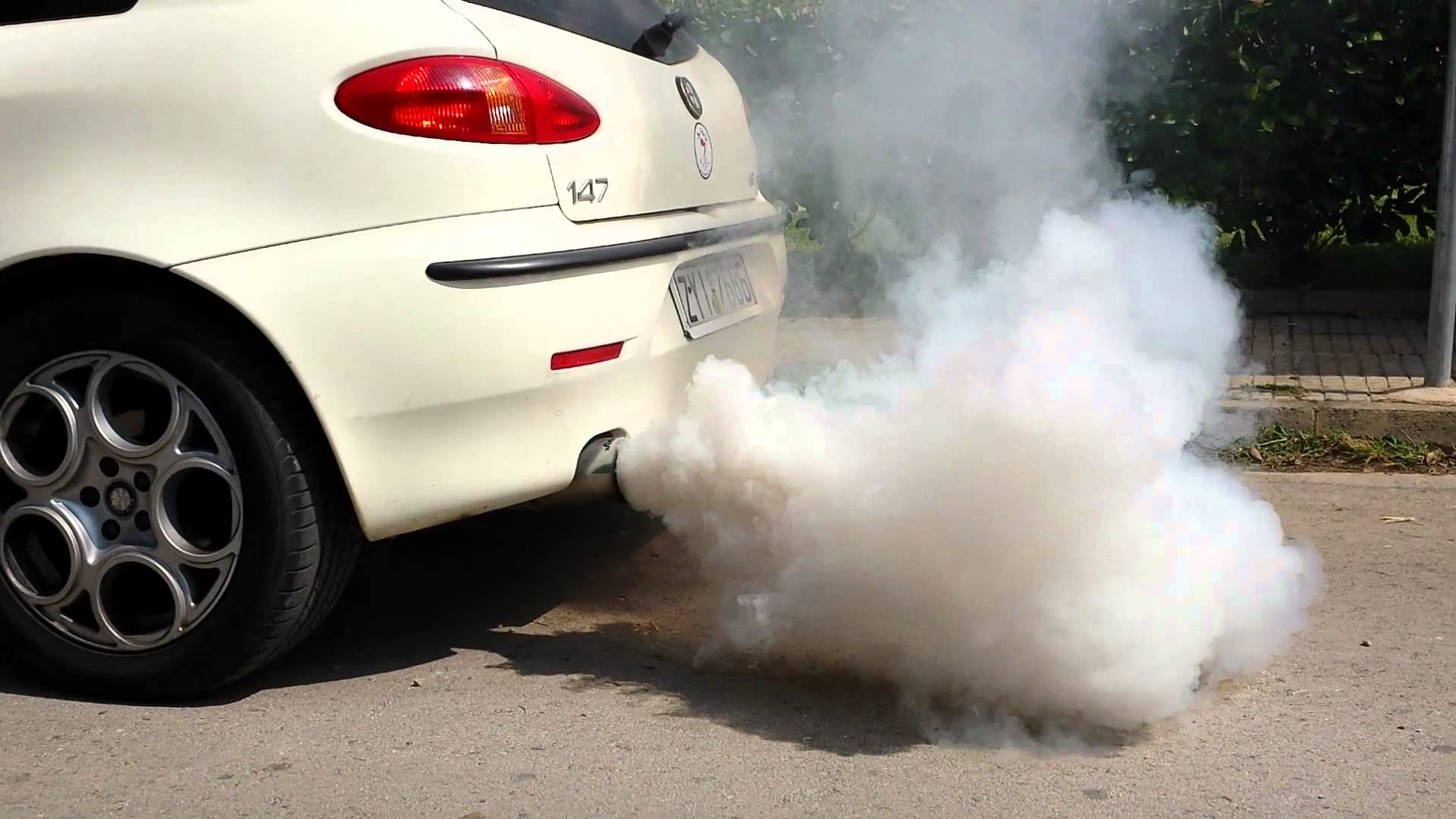 دخان السيارة