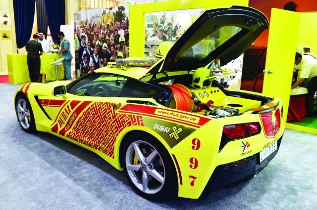 شيفروليه كورفيت أسرع سيارة إطفاء في العالم