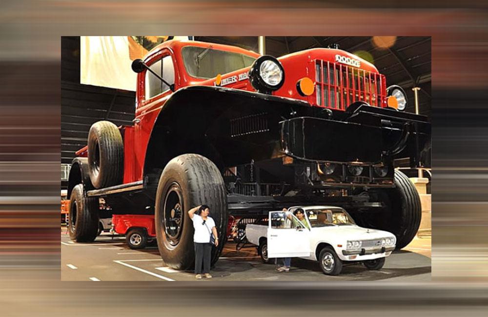 شاحنةدودج باور فاجون