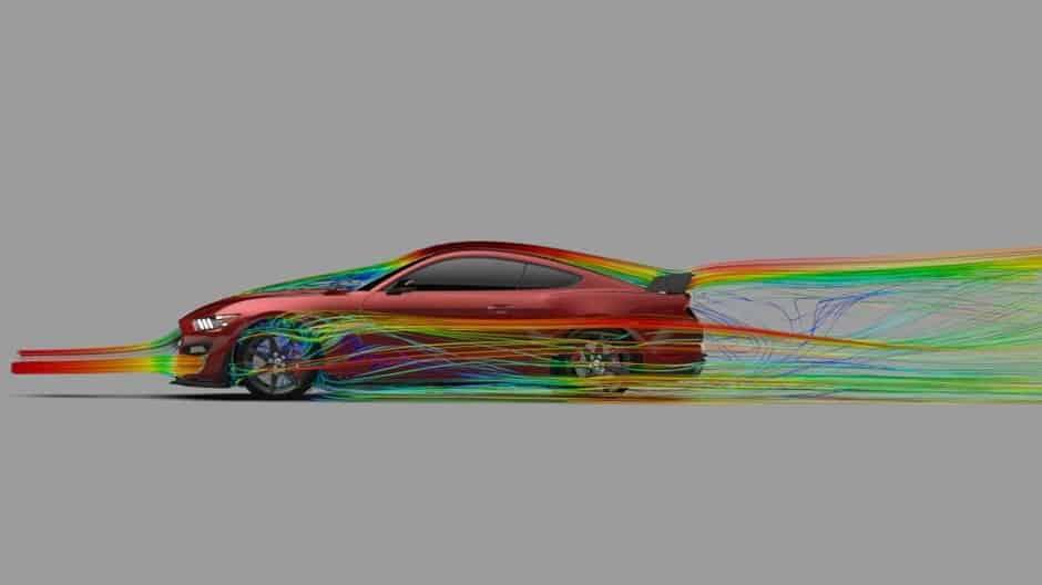 سرعة سيارة فورد موستنج شيلبي GT500 2020