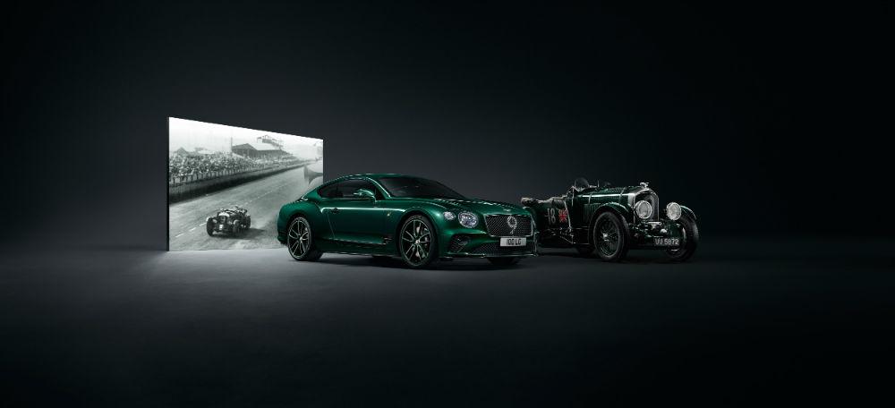 مولينر تصمم إصداراً جديداً من Bentley Continental GT مستوحى من سيارة سباق أسطورية 