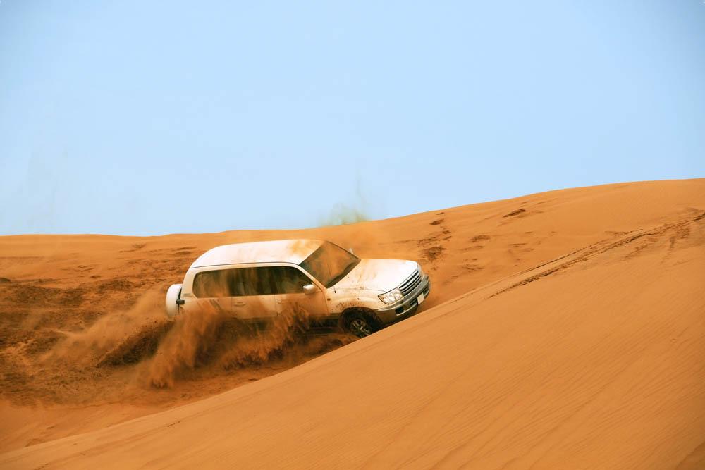 اضرار رمال الصحراء