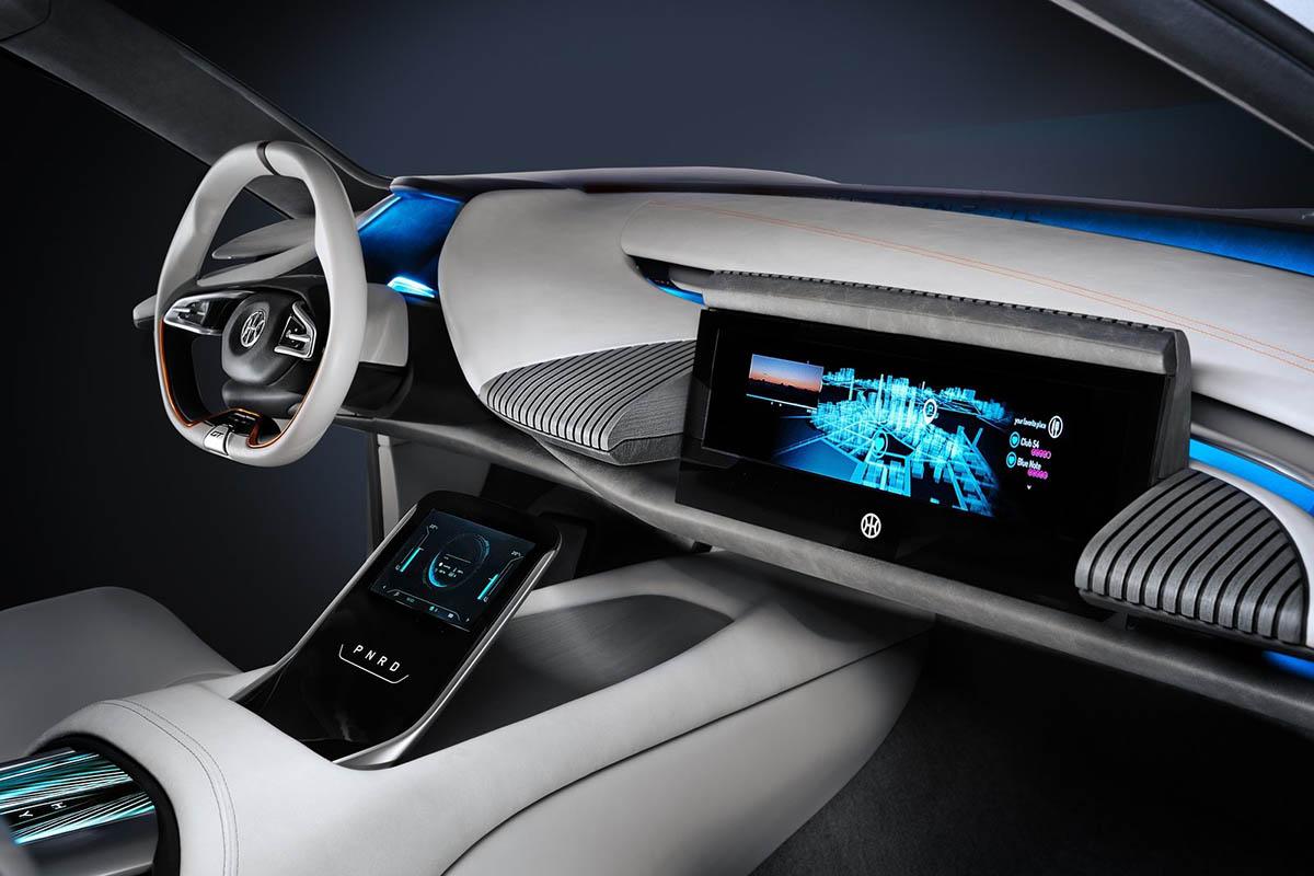 المقصورة الداخلية لسيارة تصميم بينينفارينا