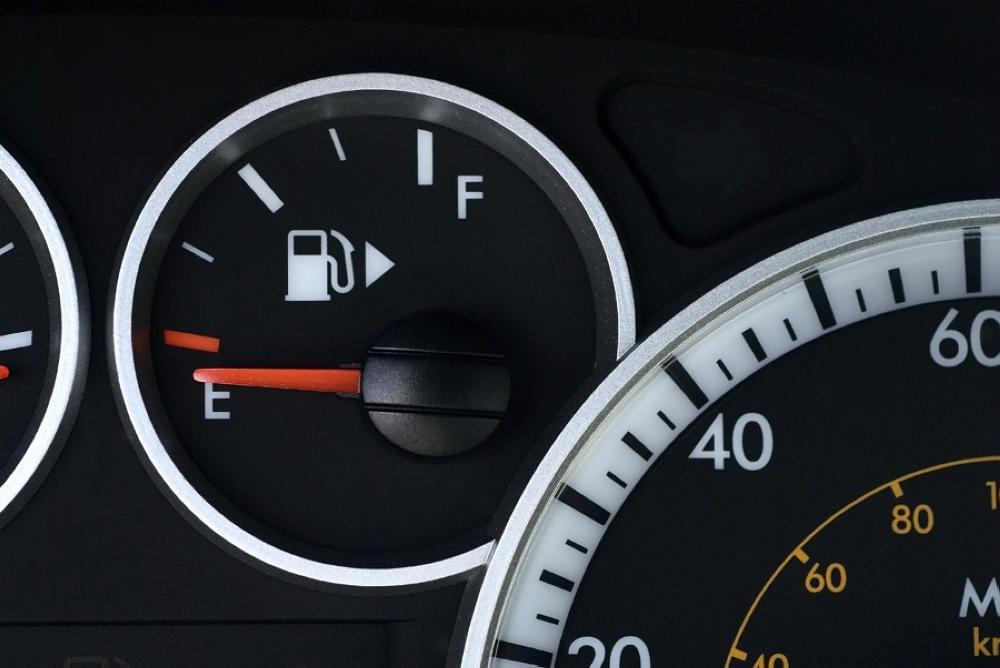 تعبئة خزان الوقود