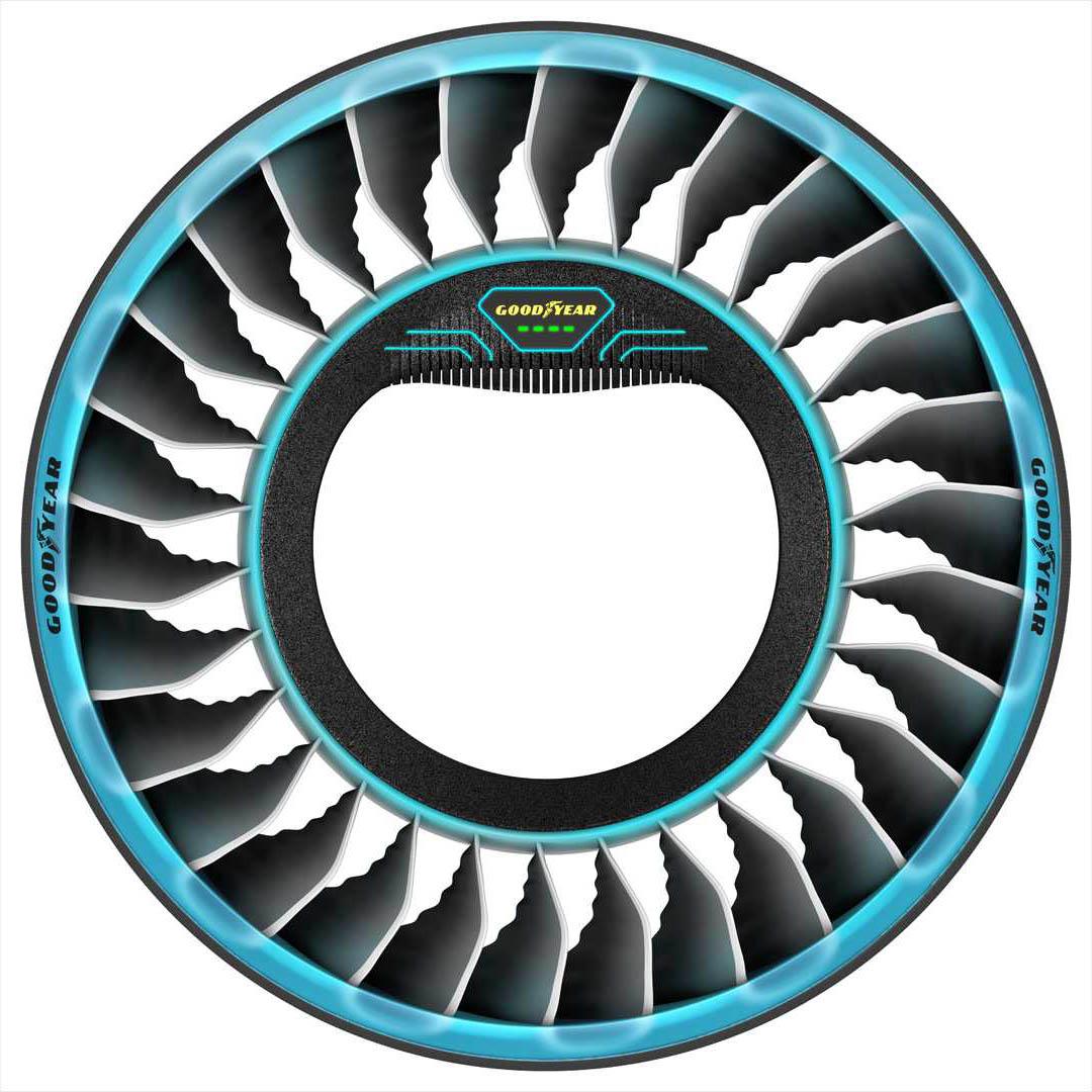 عجلات او اطارات للسيارات الطائرة