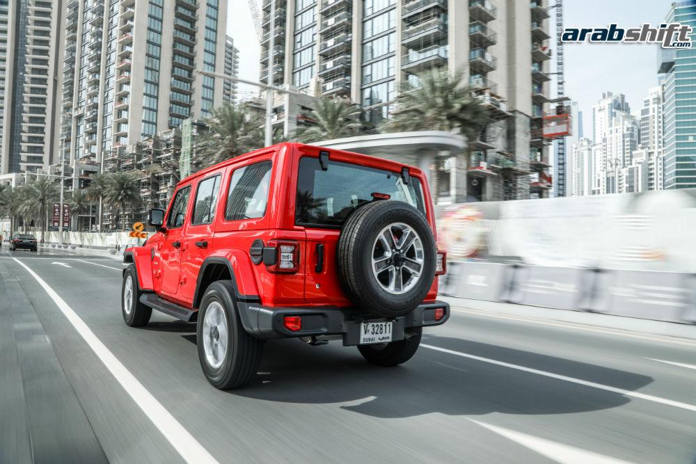 صور رسمية لسيارة جيب رانجلر 2019