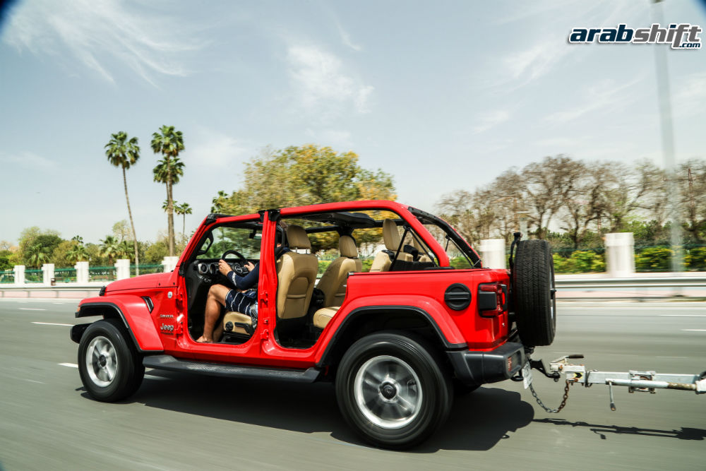 محرك Jeep Wrangler 2019