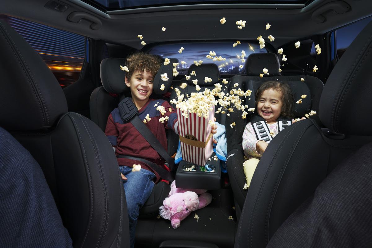 تواجد الاطفال اثناء القيادة