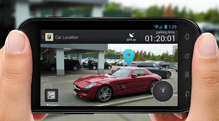 قم باستخدام التكنولوجيا في ركن سيارتك