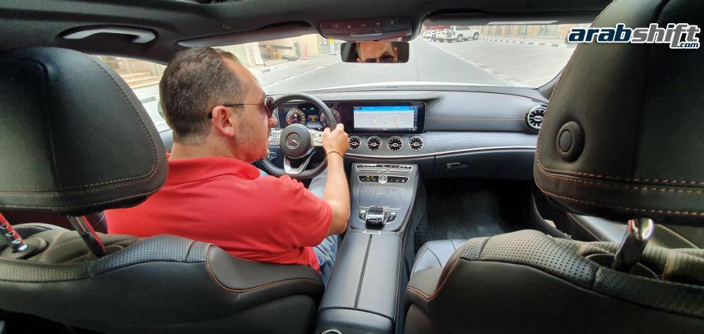 داخلية مرسيدس 350 AMG CLS 2019