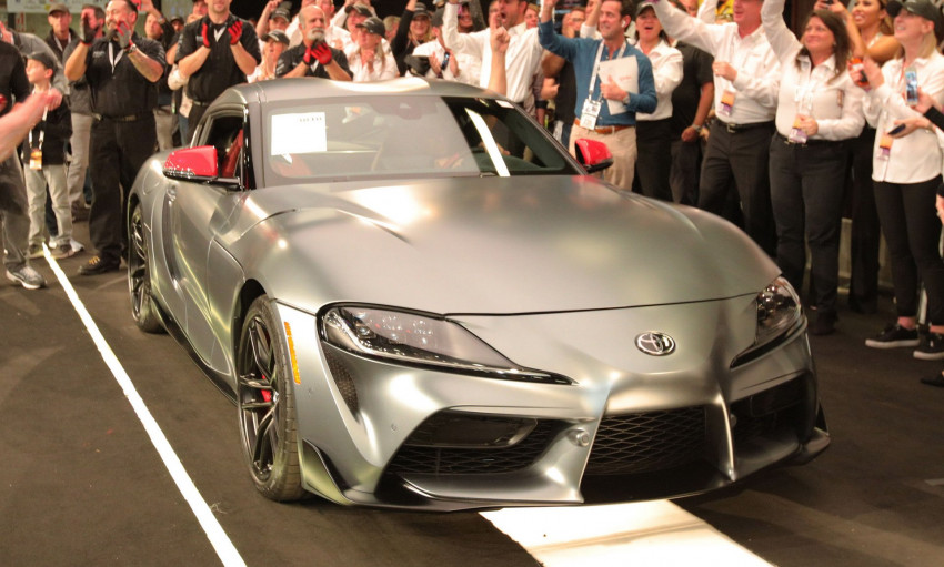 سيارة تويوتا Supra 2020 تباع مقابل مبلغ لايصدق