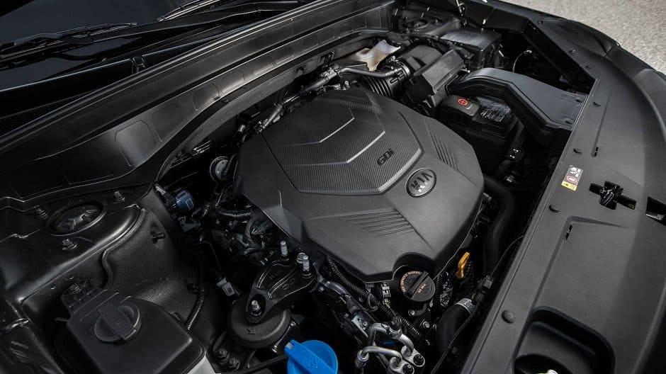 محرك كيا تيلورايد 2020