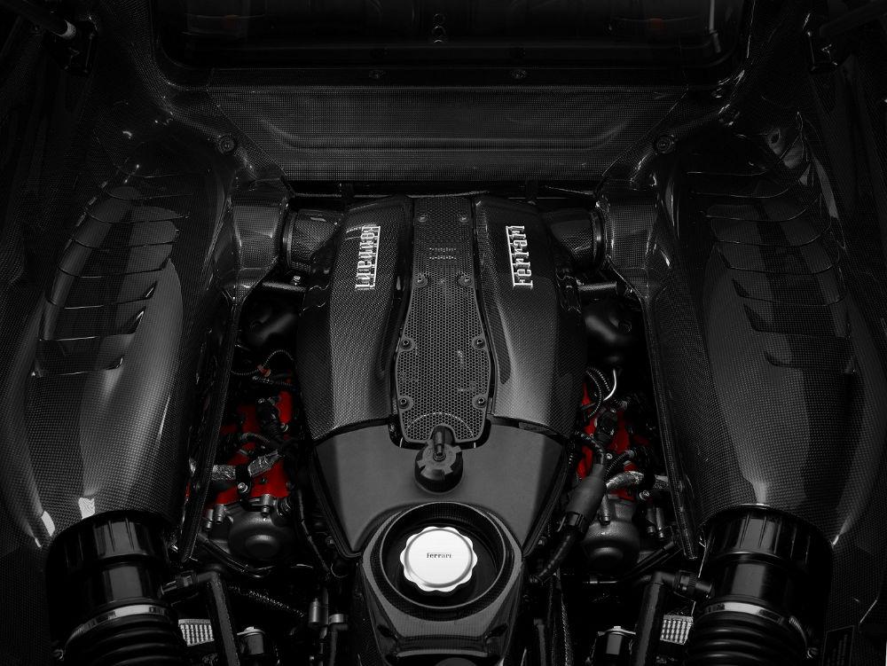 محرك فيراري إف 8 تريبوتو