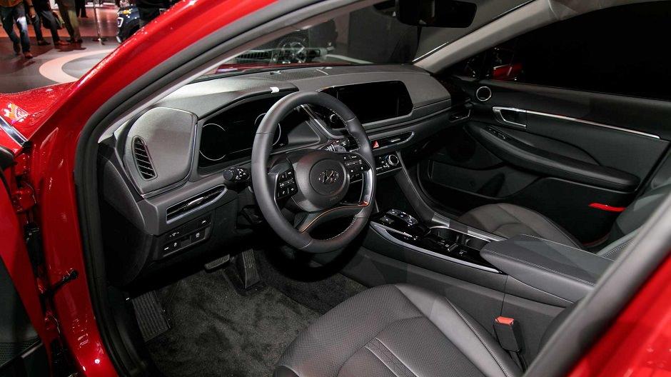 داخلية سيارة Sonata 2020