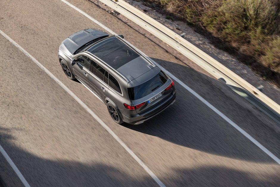 سيارة مرسيدس 2020 GLS