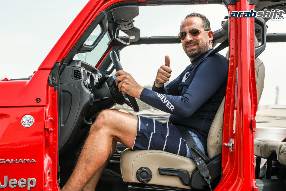 اخلية Jeep Wrangler 2019