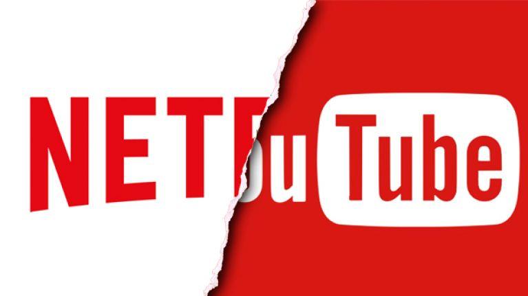 يوتيوب ونتفلكس