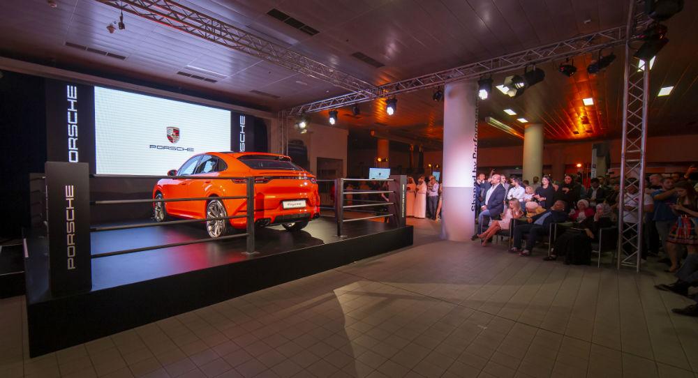 سيارة بورش كايان كوبية الجديدة