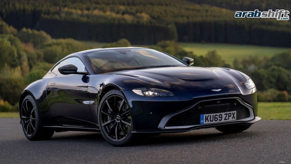 Aston Martin Vantage AMR Manual