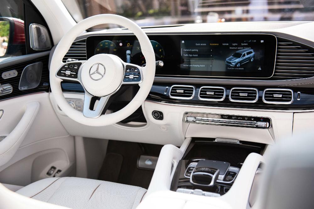 داخلية سيارة مرسيدس مايباخ GLS الجديدة رمزٌ جديدٌ للرفاهية