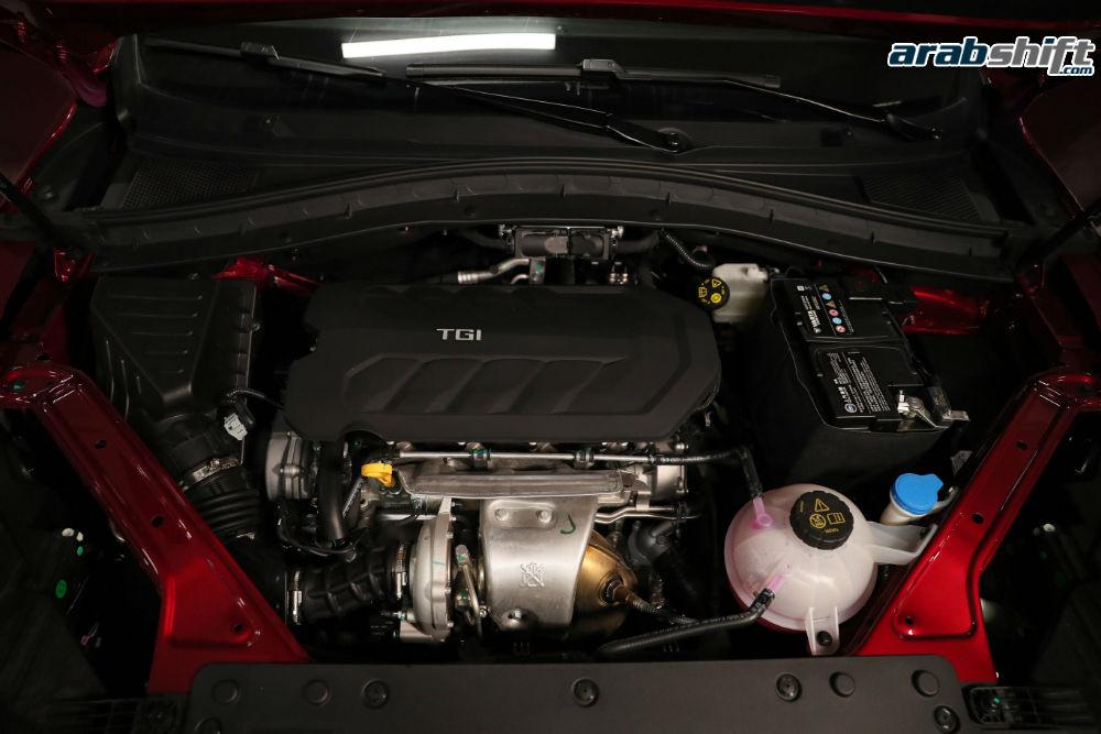 محرك MG HS 2020