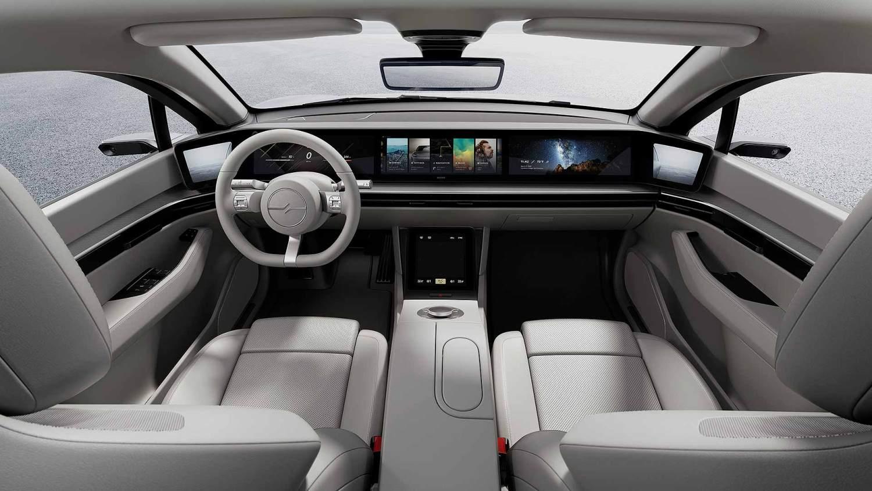 داخلية سيارة سوني